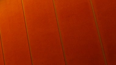 reddish orange banner for submitting a vancancy